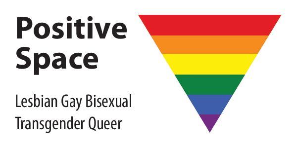 positive space logo